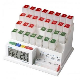 Pill Organizer with Reminder System Gift