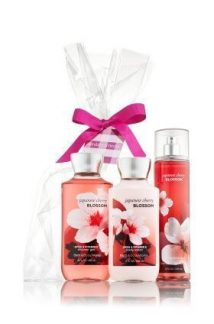 Bath & Body Works Cherry Blossom Gift