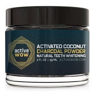 Active Wow Natural Teeth Whitening Powder